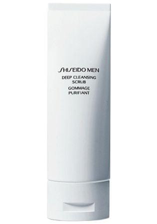 Shiseido Głębokie oczyszczanie zarośla męskie mężczyzn (głęboko oczyszczający Scrub) 125 ml