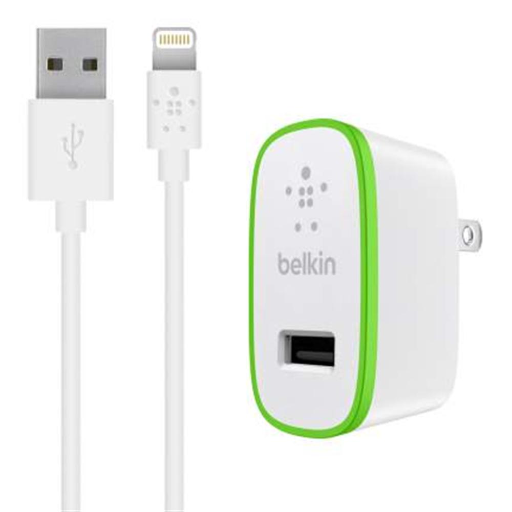 Belkin Domácí micro nabíječka 230V/5V, 2,4A + Lightning kabel F8J125vf04-WHT