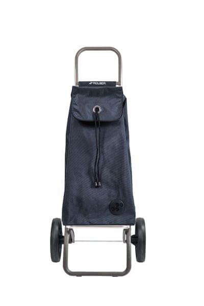 Rolser Nákupní taška na kolečkách I-Max MF Logic RSG, tmavě šedá