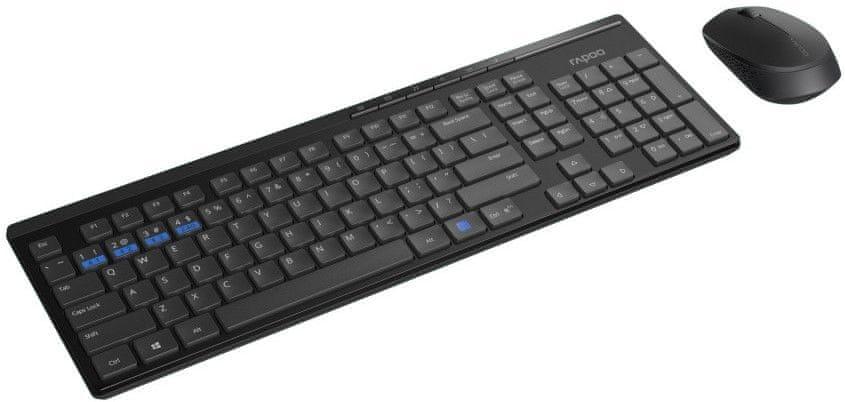 Rapoo 8100M, set klávesnice a myši