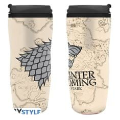 Hrnek Game of Thrones - Winter is coming cestovní (0,35 l)