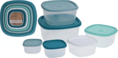 Marex Trade Sada plastových dóz 6 ks s víky