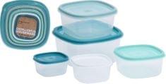 Marex Trade Sada plastových dóz 5 ks s víky