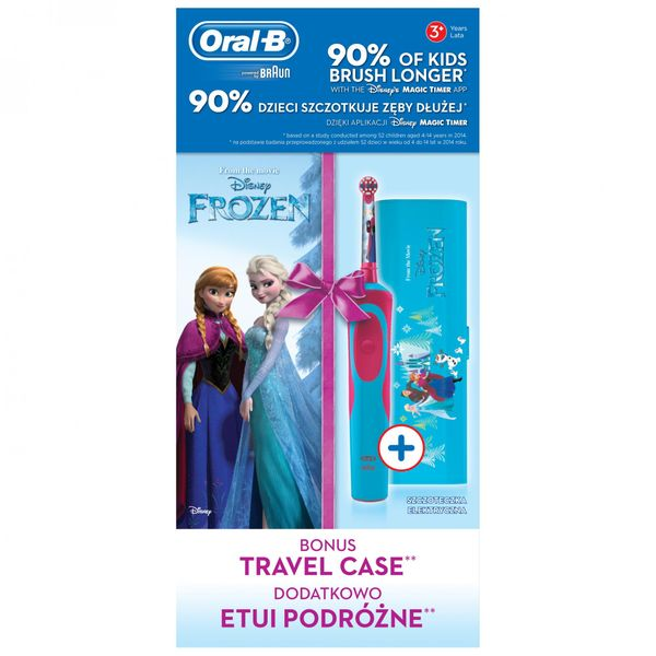 Oral-B Vitality Frozen + cestovní pouzdro