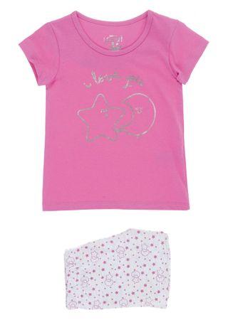 Losan dívčí pyžamo 92 růžová