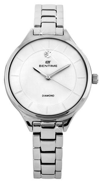 6cfdcd4ef67 Bentime Dámské hodinky s diamantem 027-9MB-PT12102A