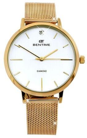 Bentime Dámské hodinky s diamantom 044-9MB-PT11894N