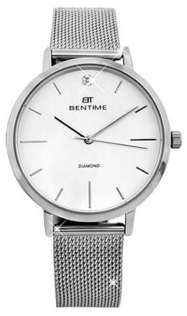 Bentime Dámské hodinky s diamantem 027-9MB-PT11894M