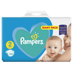 Pampers Pleny New Baby 2 Mini (4-8kg) Giant Pack - 100 ks