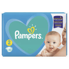 Pampers Plenky New Baby Carry Pack S2 43ks