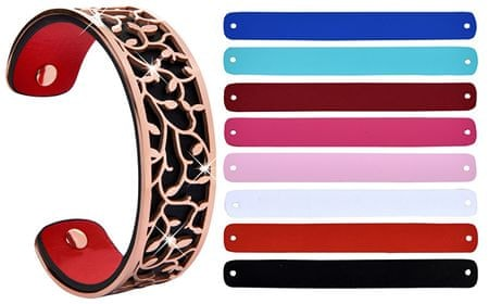 Troli Ocelový náramek s vyměnitelnými barvami 20 mm II.