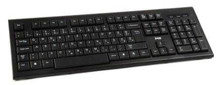 MSI tipkovnica USB STANDARD ALPHA, črna, slo