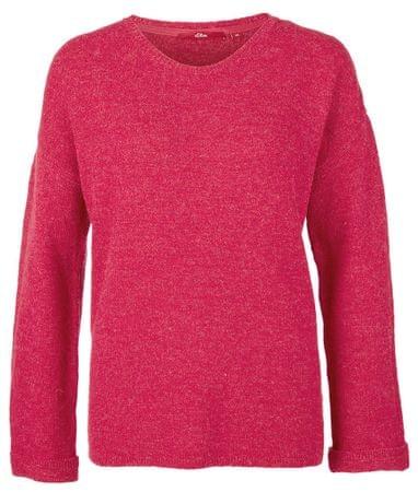 s.Oliver dámský svetr 34 růžová