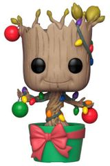 Figurka Guardians of the Galaxy - Holiday Groot with Lights & Ornaments (Funko POP! Bobble-Head)