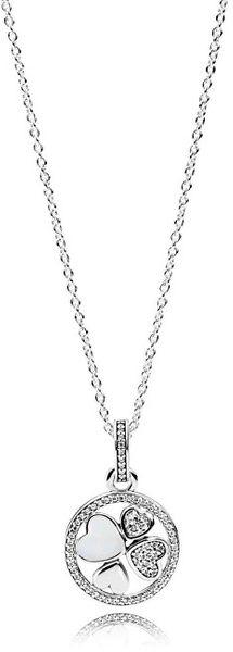 Pandora Dlouhý náhrdelník pro štěstí 390405CZ-70 (řetízek, přívěsek) stříbro 925/1000