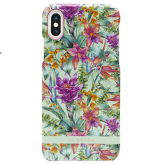 SO SEVEN Hawai Case Tropical Blue Kryt pro iPhone X/XS SSBKC0017