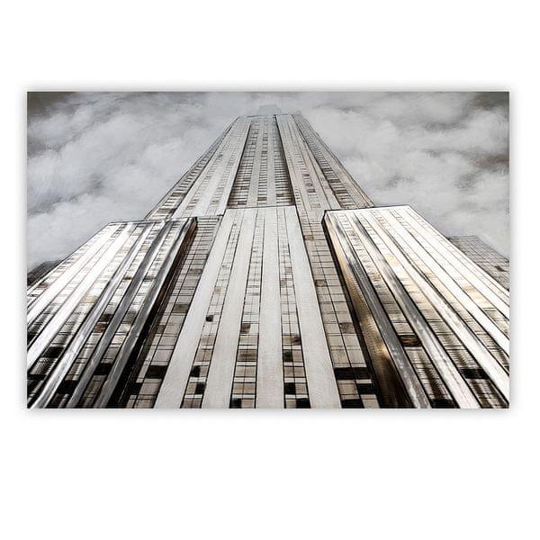 Papillon 3D obraz Tower 150 cm, olej na plátně