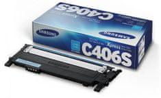 Samsung toner CLT-C406S/ELS azurový (ST984A)
