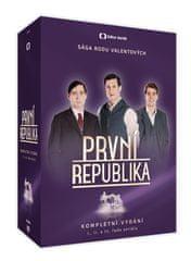 Komplet První republika I. - III. řada (14 DVD)   - DVD