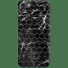 SO SEVEN Milan Case HoneyComb Marble Black Kryt pro iPhone 6/6S/7/8 SSBKC0048