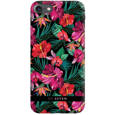 SO SEVEN Hawai Case Tropical Black Kryt pro iPhone 6/6S/7/8 SSBKC0055