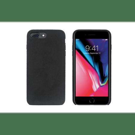 SO SEVEN Sweet Gentleman Case MicroFiber Black Tok iPhone 7/8+ mobiltelefonra SSBKC0105