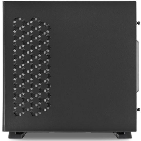 Sharkoon ohišje MIDI T ATX W/O PSU PURE STEEL RGB