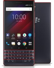 BlackBerry KEY2 LE Dual SIM, 64GB, Blue/Cobalt Red