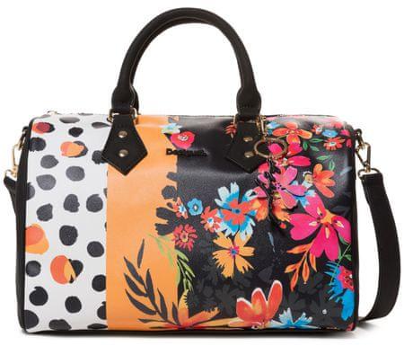 Desigual ženska torbica Bols Carmela Patch Bowlin, črna