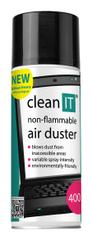Clean IT Stlačený plyn 400 g nehořlavý CL-131