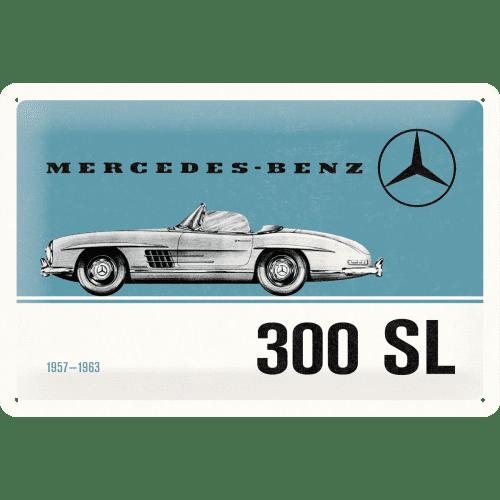 Postershop Plechová cedule: Mercedes-Benz 300 SL