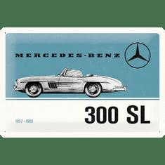 Postershop plastična tablica z napisom: Mercedes-Benz 300 SL