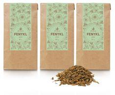 Allnature herbata Koper włoski, 80 g, 3 szt.