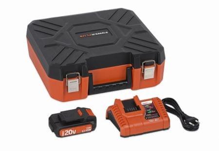 PowerPlus POWDP9066 Töltő 20V/40V 20V LI-ION akkumulátorral 1,5Ah Dual Power