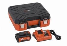 PowerPlus POWDP9068 Töltő 20V/40V 40V LI-ION akkumulátorral 2,0Ah Dual Power