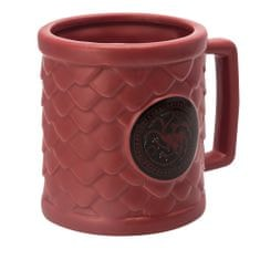 Hrnek Game of Thrones - Targaryen 3D (0,5 l)
