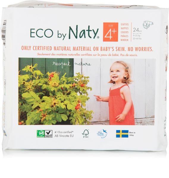 NATY Plenky Maxi+ 9-20 kg (24 ks)
