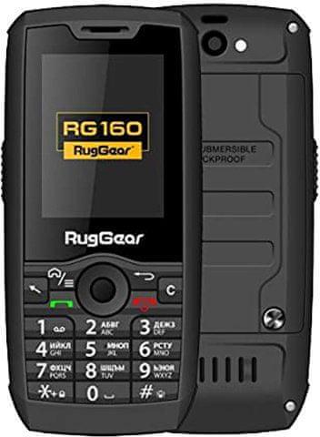 RugGear RG160, Android, IP68 - zánovní