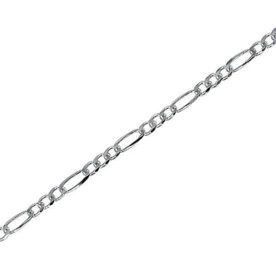 Brilio Silver Ezüst karkötő Figaro 19 cm 461 086 00114 04