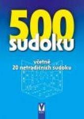 autor neuvedený: 500 sudoku (bleděmodrá obálka)