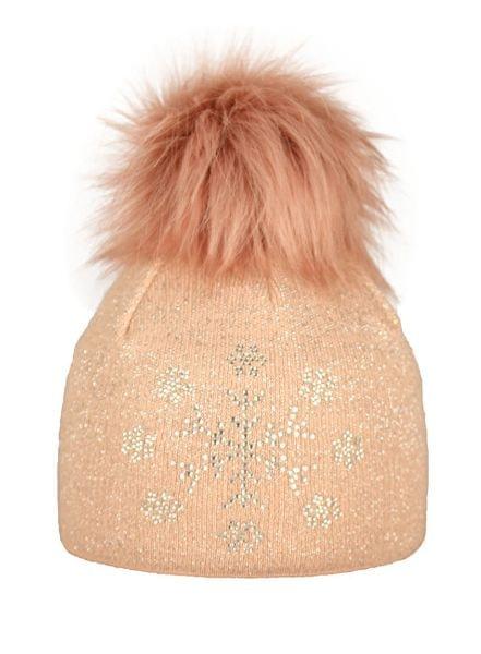 Capu Zimní čepice 1743-C Pink