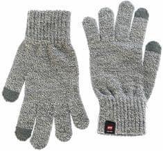 Jack Jones Pánské rukavice Jacmelange Knitted Gloves Grey Melange 25d7733ef7