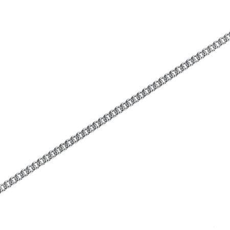 Brilio Silver Jemný strieborný retiazka pancier 50 cm 471 086 000177 ... 73648691f8f