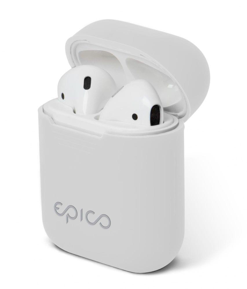 EPICO AIRPODS CASE, bílá - rozbaleno