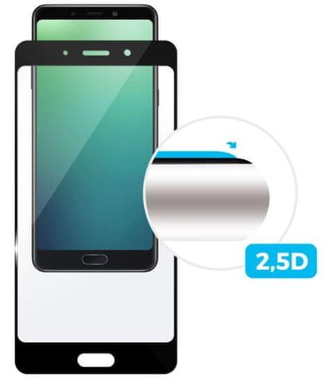 FIXED ochronne szkło hartowane Full-Cover do Huawei Mate 20 Lite, na cały ekran, czarne, 0,33 mm FIXGF-345-BK