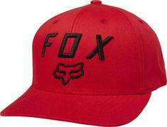 FOX pánska červená snapback šiltovka Legacy Moth 110 Snapback