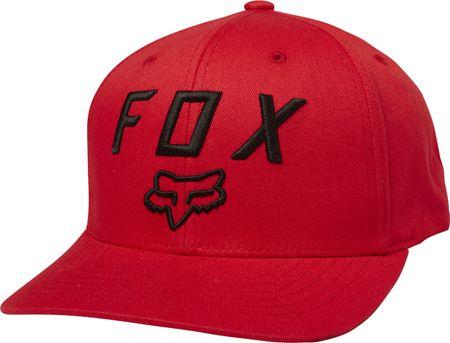 FOX pánská červená snapback kšiltovka Legacy Moth 110 Snapback ... 33f98db86d