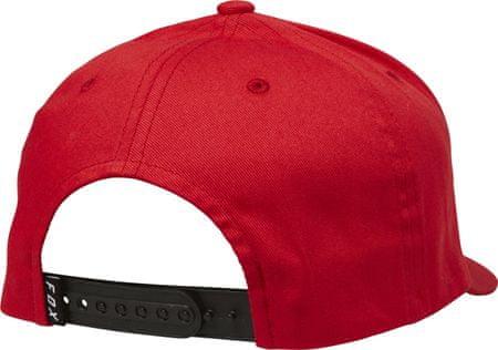 42e45795d08 FOX pánská červená snapback kšiltovka Legacy Moth 110 Snapback ...