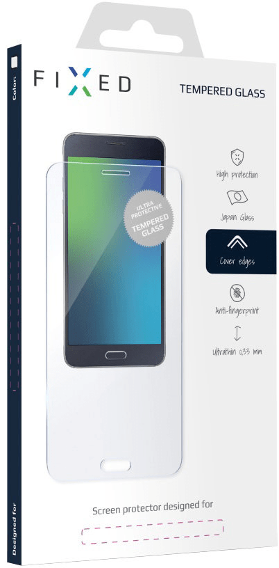 Fixed Ochranné tvrzené sklo pro Huawei Y6 Prime (2018), 0,33 mm FIXG-294-033