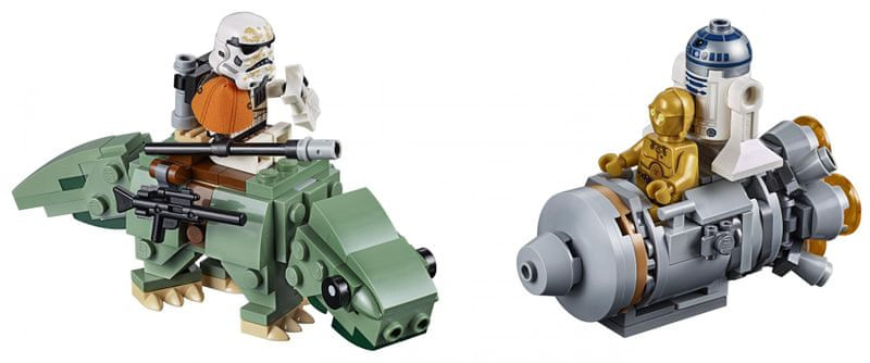 LEGO Star Wars™ 75228 Únikový modul vs. Dewback
